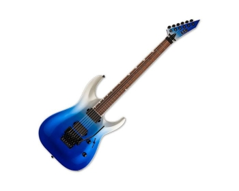 ESP LMH400FRBLUPFD LTD MH-400 with Floyd Rose In Blue Pearl Fade Metallic Finish Guitar