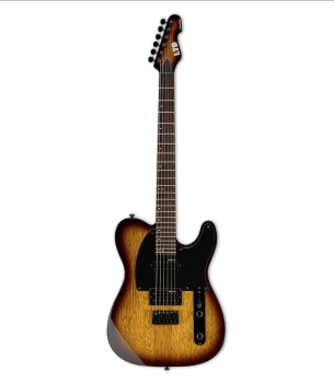 ESP LTE200RTSB LTD TE200 Series with Roasted Jatoba Fretboard Tobacco Sunburst Finish Guitar