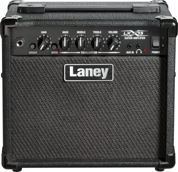 Laney LX15-Blaney On-board Compressor Aux Bass With Guitar Mixer