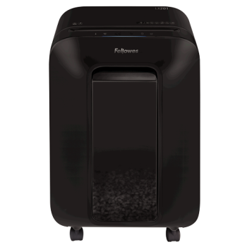 Fellowes Powershred LX201 Micro-Cut Shredder - Black