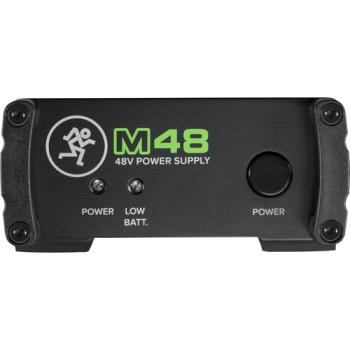 Mackie M48 Single-Channel 48V Phantom Power Supply