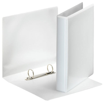 "Ideal 1"" 2 Ring Presentation Binder White A4 Size - Set of 10"