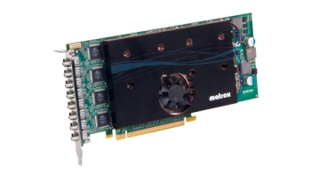 Matrox M9188 PCIe x16 Multi-Display Octal Graphics Card