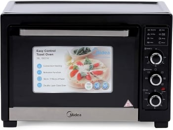 Midea MC38EHB 38L Toaster Oven with Convection