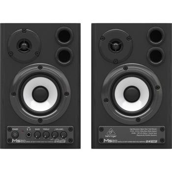 Behringer MS20PAIR Digital 20-Watt Stereo Near Field Monitors