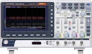 GW INSTEK MSO-2204E 4 Channel Mixed Signal Oscilloscope