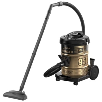 Hitachi CV950F 2100W 18L Drum Type Vacuum Cleaner