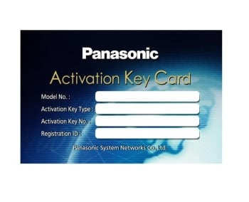 Panasonic KX-NSM010W IP Phone Capacity Activation Key - Up To 100 IP Phones