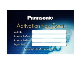 Panasonic KX-NSX999X IP Phone Capacity Expansion Activation Key- Up to 640 Ext