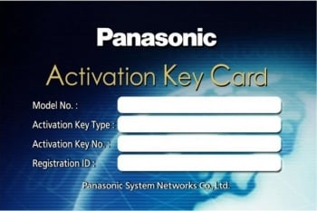 Panasonic KX-NSM210W 10 Channel IP Softphone / IP Proprietary Telephone Activation Key