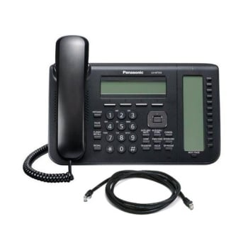 Panasonic KX-NT553X-B 3-Line LCD IP Telephone