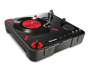Numark PT01 Portable Turntable with DJ Scratch Switch