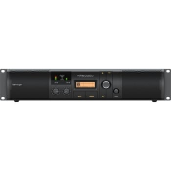 Behringer NX6000D Ultra-Lightweight 6000-Watt Class-D Power Amplifier