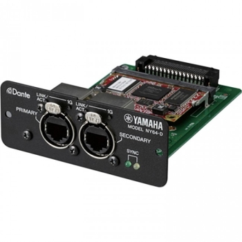 Yamaha NY64-D Dante Expansion Card for TF Series Consoles