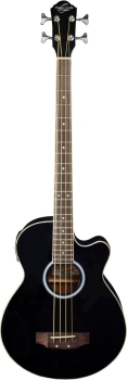 Oscar Schmidt OB100B 4-String Acoustic-Electric Bass Guitar