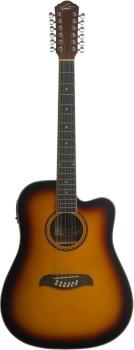 Oscar Schmidt OD312CETS 12 Strings Dreadnought Acoustic Guitar