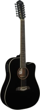 Oscar Schmidt OD312CEB 12 Strings Dreadnought Acoustic Guitar