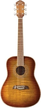 Oscar Schmidt OG1FYS 6 Strings 3/4 Size Dreadnought Acoustic Guitar