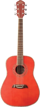 Oscar Schmidt OG1TR 3/4 Size 6 Strings Dreadnought Acoustic Guitar