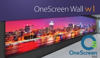 Clary Icon OneScreen Wall W1 with 0 Bezel for Seamless Videos & Images
