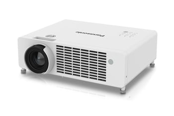 Panasonic PT-LRZ35 1.3x Manual Zoom Throw Ratio 1.28–1.69:1. 1-Chip DLP™ Projector