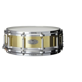 "Pearl FTBR1450 14""x5"" Inches Free Floater Brass Snare Drum"