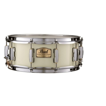 "Pearl SSC1455S-C-106 14""x5.5"" Session Studio Classic Snare Drum, Antique Ivory Finish"
