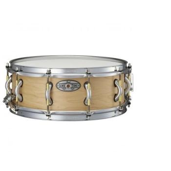 """Pearl STA1450MM-321 14""""x5"""" Sensitone Premium Maple Snare Drum, Satin Birch Finish"""