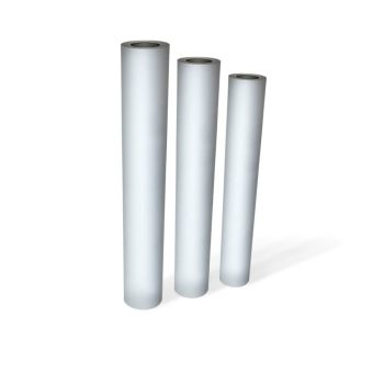 "DM PFP10156 1200mm x 100 Yards 3"" 80 GSM Plotter Roll - Pack of 1 Roll"