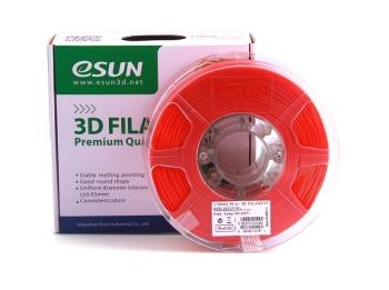 ESun 3D Filament PLA+ 1.75mm Red