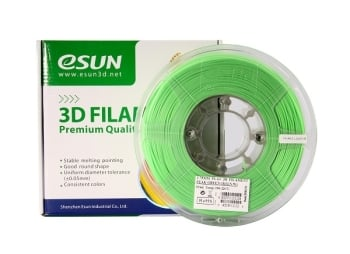 ESun 3D Filament PLA+ 1.75mm Peak Green