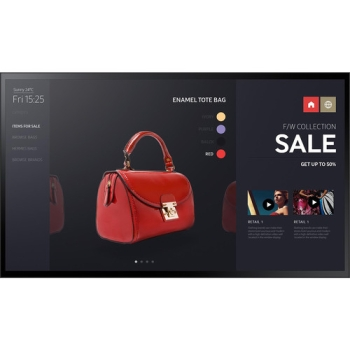 """Samsung PM55F-BC 55"""" HD Commercial Touchscreen Smart LED TV"""