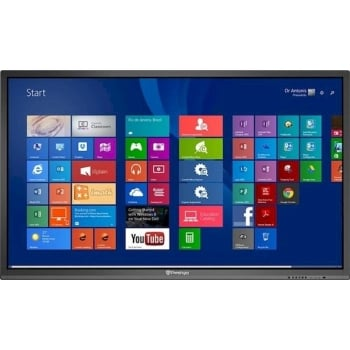 "Prestigio MultiBoard 55"" 4K UHD Interactive Display (i5, 4GB, Win10 Pro)"