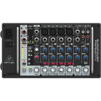 Behringer Ultra-Compact 500-Watt 8-Channel Powered Mixer