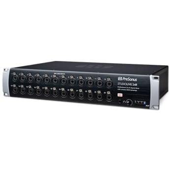 Presonus StudioLive 24R UK 24-Channel Digital Rack Mixer With Integrated Audio Interface