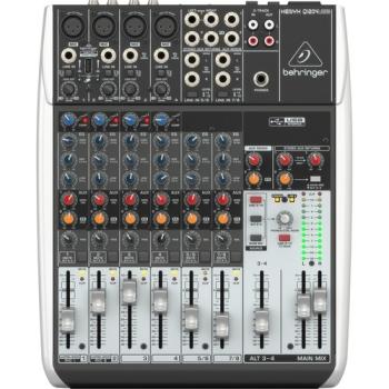 Behringer XENYX Q1204USB 12-Input USB Audio Mixer