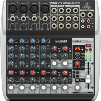 Behringer QX1202USB 12-Channel USB Mixer with Multi-FX Processor