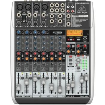 Behringer XENYX QX1204USB 12-Channel USB Mixer