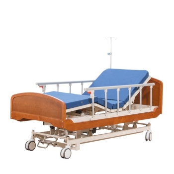 DM Raydow RD-YE3005B Luxury Electric Five Function Wooden Nursing Bed