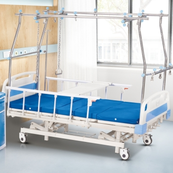 DM RD-YH8000B Factory High Quality Simple Designed Abs Panel 3 Manual ICU Hospital Bed