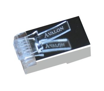 Avalon RJ45 CAT.6 Shielded Connectors_Pack Of 100