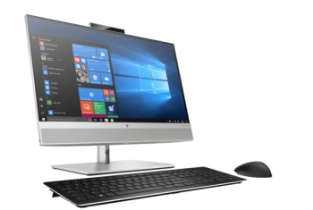 HP EliteOne 800 G6 Non-Touch All In One PC (Intel Core i5, 8GB, 256 GB SSD, 24 Inches Screen 5MP Pop Up Camera)