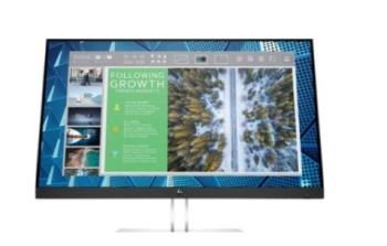 HP 9VG12AS ARAB 24 Inches E24q G4 QHD Monitor