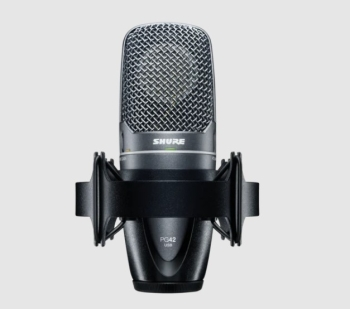 Shure PG42-USB Cardioid Condenser Vocal Microphone with USB Connection