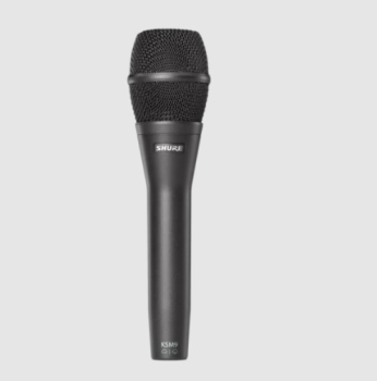 Shure KSM9/SL Cardioid & Supercardioid Handheld Condenser Microphone