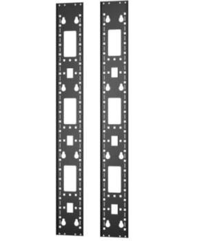 APC ER7RCC24 Vertical 0U Accessory Channel 24U 2 Pieces Easy Rack