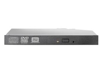 HP 12.7mm Slim SATA DVD RW JackBlack Optical Drive - For Gen8