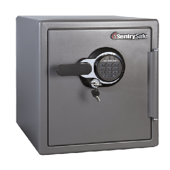 Sentry MSW0809 Fire & Water Proof Digital and KeyLock Safe