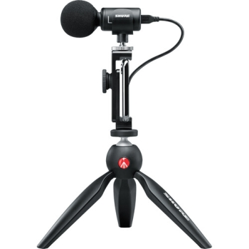 Shure Video Kit Digital Stereo Microphone and Accessories for Smartphones