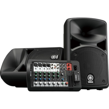 Yamaha STAGEPAS 400BT Portable 8-Channel PA System with Bluetooth